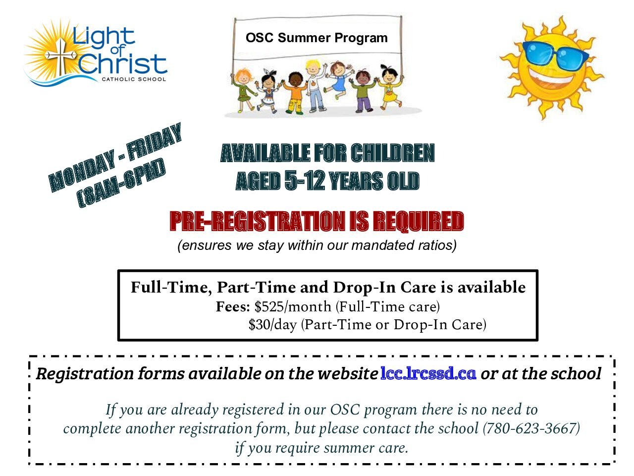 Out of School Care Summer Program